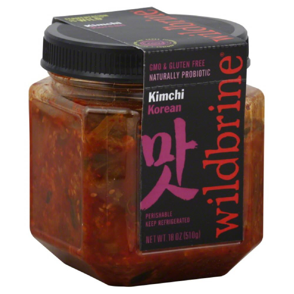 Wildbrine Korean Kimchi, 18 Oz (Pack of 6)