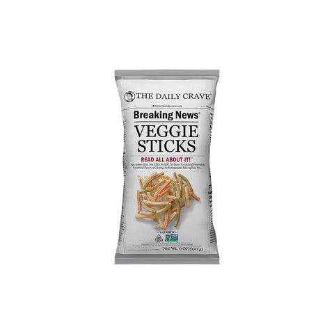 The Daily Crave Veggie Stick, 6 OZ (Pack of 8)