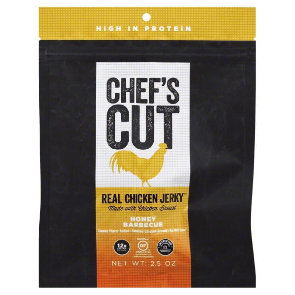 Chefs Cut Honey Barbecue Real Chicken Jerky, 2.5 Oz (Pack of 8)