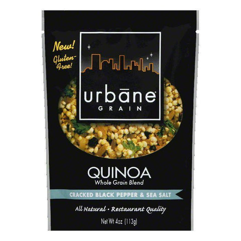 Urbane Grain Cracked Pepper Sea Salt Quinoa Blend, 4 OZ (Pack of 6)