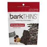 Barkthins Dark Chocolate Covered Almond, 4.7 OZ (Pack of 12)