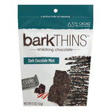 Barkthins Dark Chocolate Covered Mint, 4.7 OZ (Pack of 12)