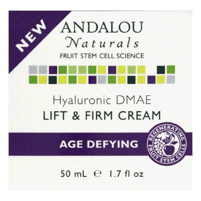 Andalou Naturals Hyaluronic DMAE Lift & Firm Cream, 1.7 Oz