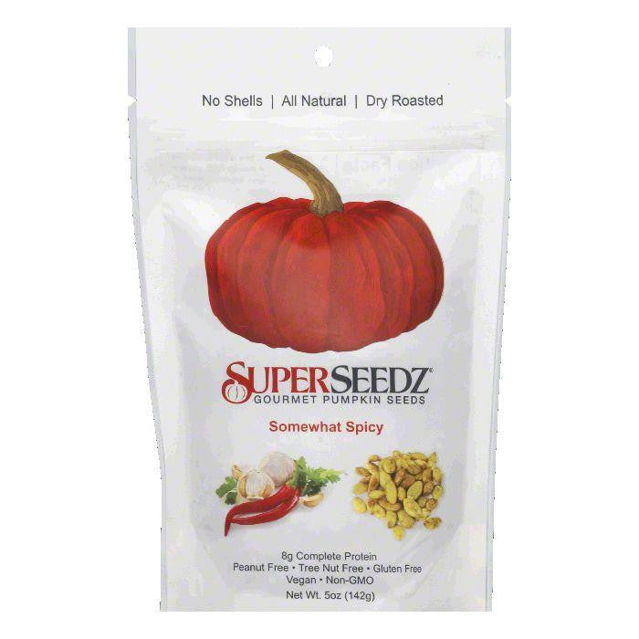 Super Seedz Somewhat Spicy Pumpkin Seed, 5 OZ (Pack of 6)