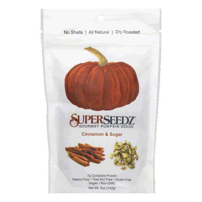 Super Seedz Cinnamon Sugar Pumkin Seed, 5 OZ (Pack of 6)