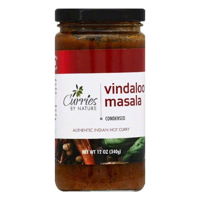 Curries By Nature Vindaloo Masala Hot Condensed Curry, 12 OZ (Pack of 6)