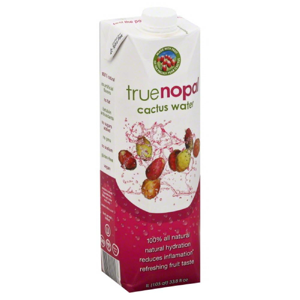 True Nopal Cactus Water, 33.8 Oz (Pack of 12)