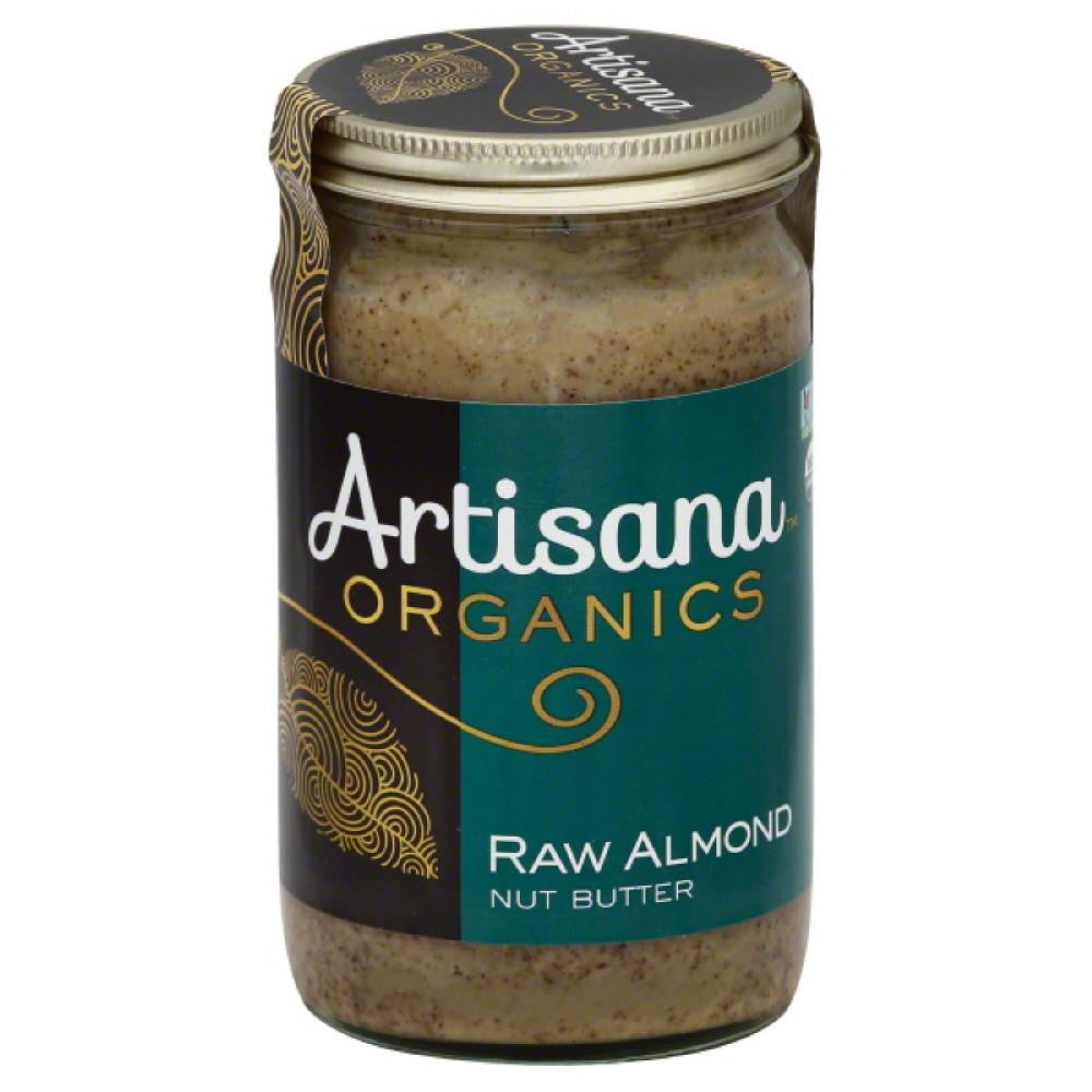 Artisana Raw Almond Nut Butter, 14 Oz (Pack of 6)