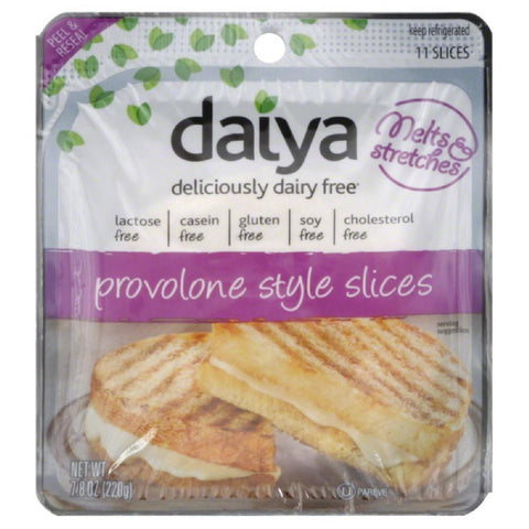 Daiya Provolone Style Slices, 7.8 Oz (Pack of 8)