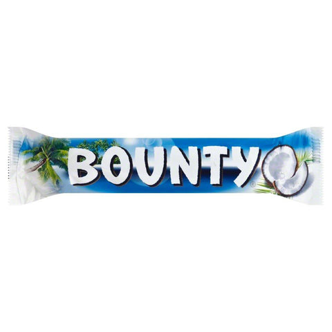Mars Bounty Milk Chocolate Coconut Candy Bar, 2 oz (Pack of 24)