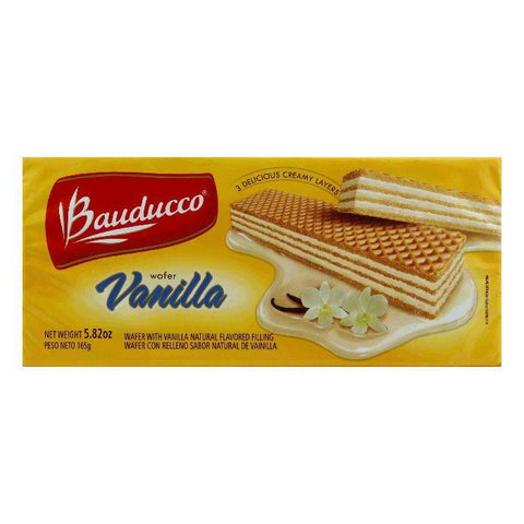 Bauducco Wafers Vanilla, 5.82 OZ (Pack of 18)