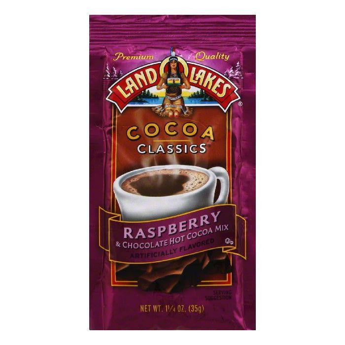 Land O Lakes Cocoa Classics Chocolate & Raspberry, 1.25 OZ (Pack of 12)