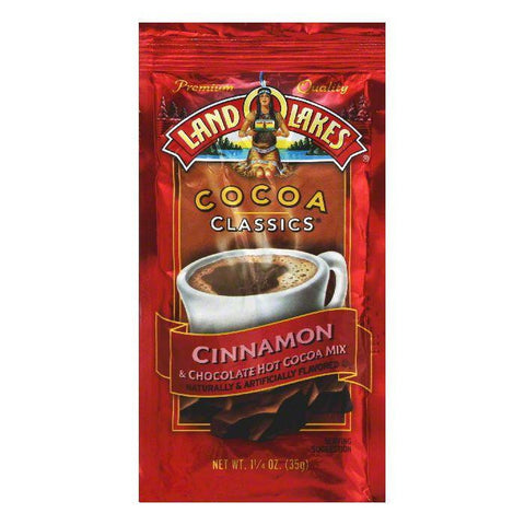 Land O Lakes Classic Cocoa Chocolate Cinnamon, 1.25 OZ (Pack of 12)