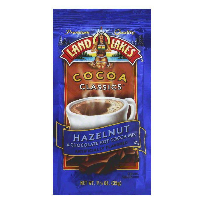 Land O Lakes Cocoa Classics Chocolate & Hazelnut, 1.25 OZ (Pack of 12)