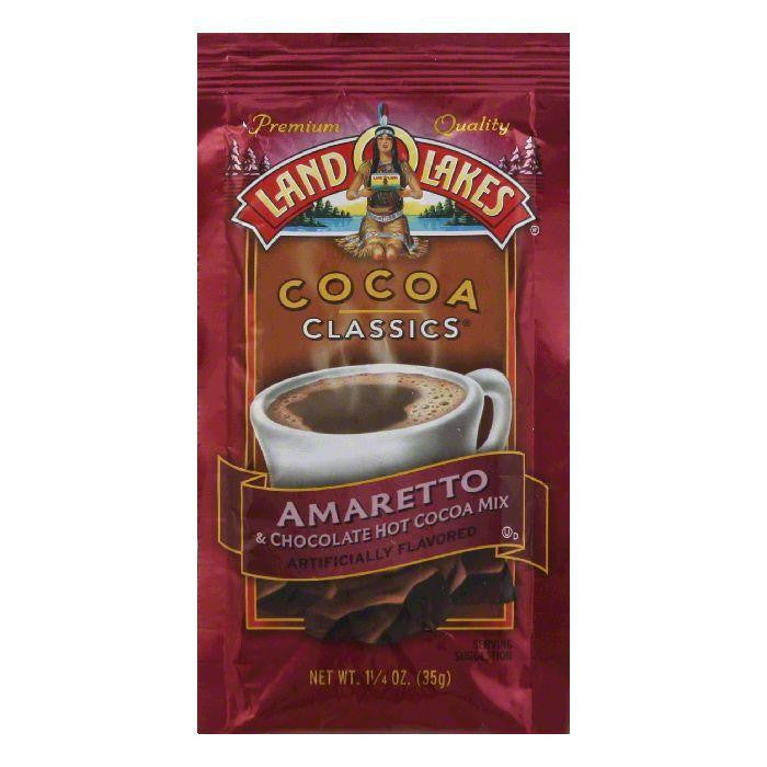 Land O Lakes Cocoa Classics Chocolate & Amaretto, 1.25 OZ (Pack of 12)