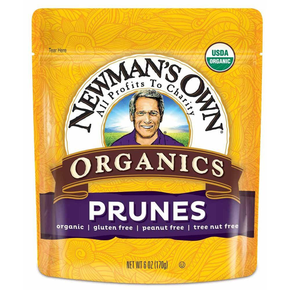 Newmans Own Organics Prunes, 6 OZ (Pack of 12)