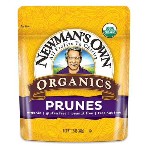 Newmans Own Organics Prunes, 12 OZ (Pack of 12)