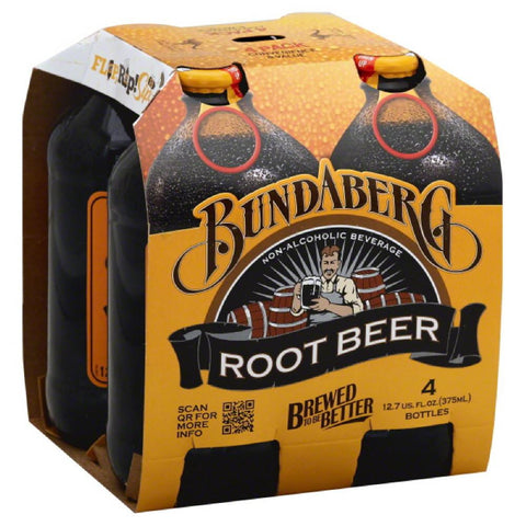 Bundaberg Root Beer, 375 Ml (Pack of 6)