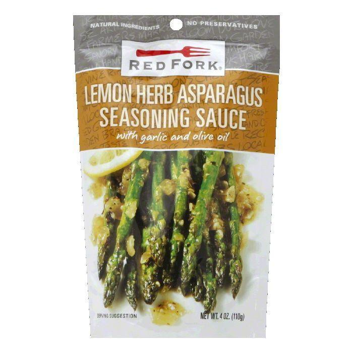 Red Fork Lemon & Herb Asparagus Seasoning Sauce, 4.5 OZ (Pack of 8)
