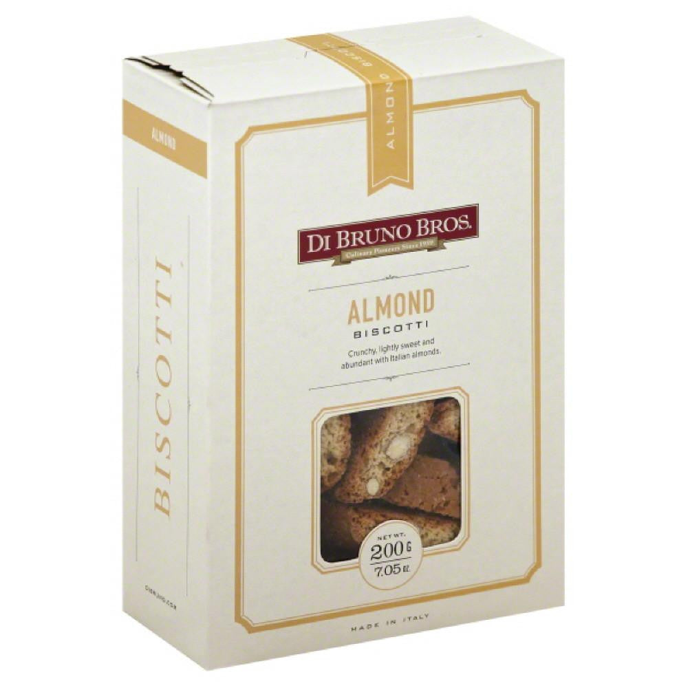 Di Bruno Bros Almond Biscotti, 7.05 Oz (Pack of 12)