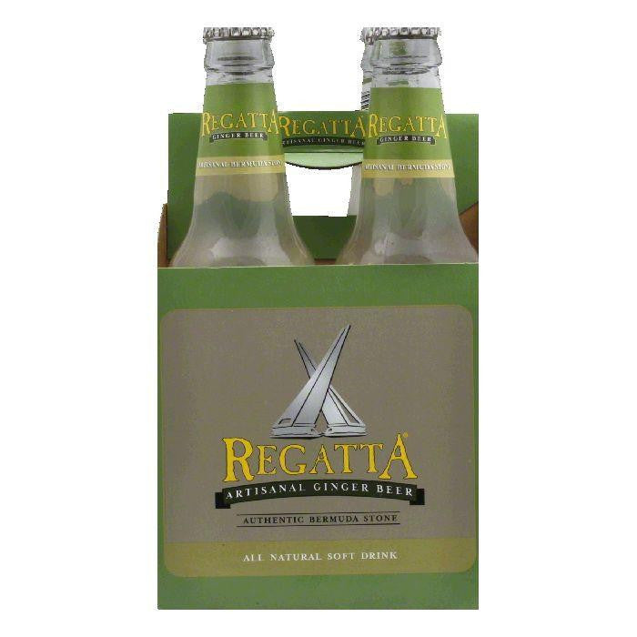 Regatta Ginger Beer 4PK, 48 FO (Pack of 6)