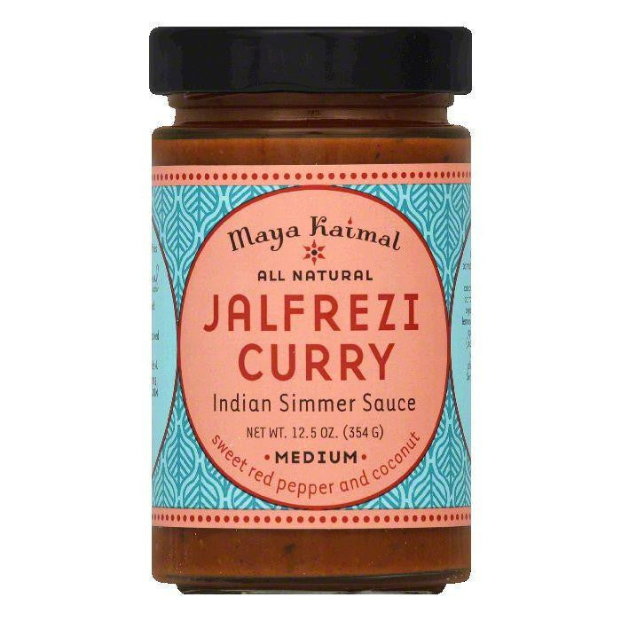 Maya Kaimal Medium Jalfrezi Curry Indian Simmer Sauce, 12.5 Oz (Pack of 6)