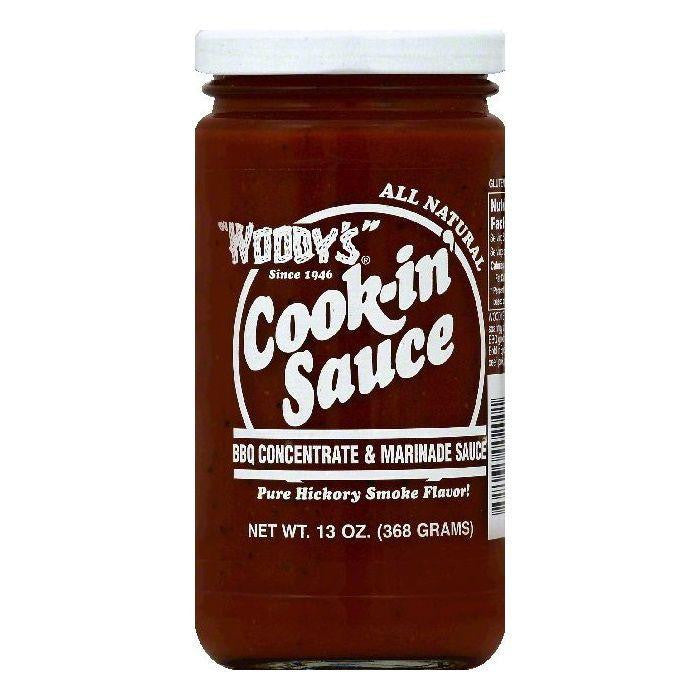 Woodys BBQ Concentrate & Marinade Sauce, 13 OZ (Pack of 6)