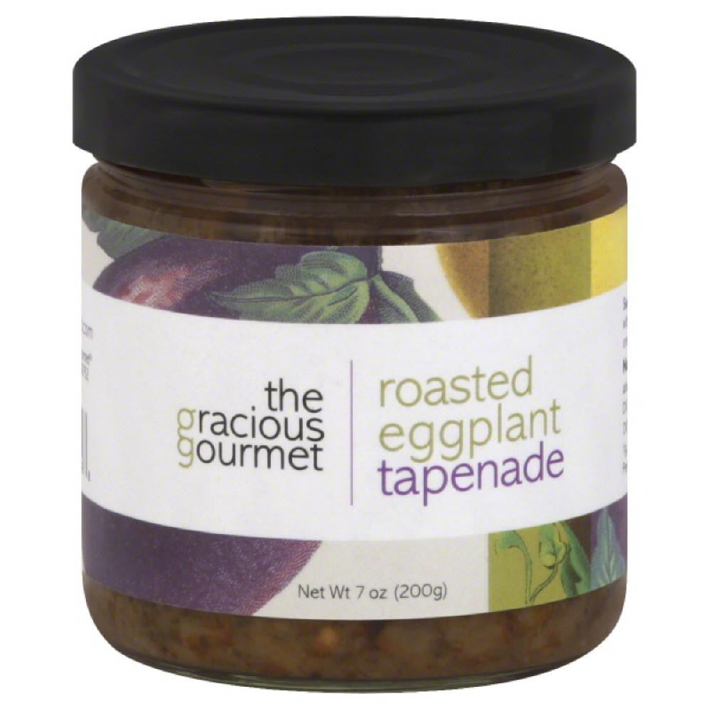 Gracious Gourmet Roasted Eggplant Tapenade, 7 Oz (Pack of 12)