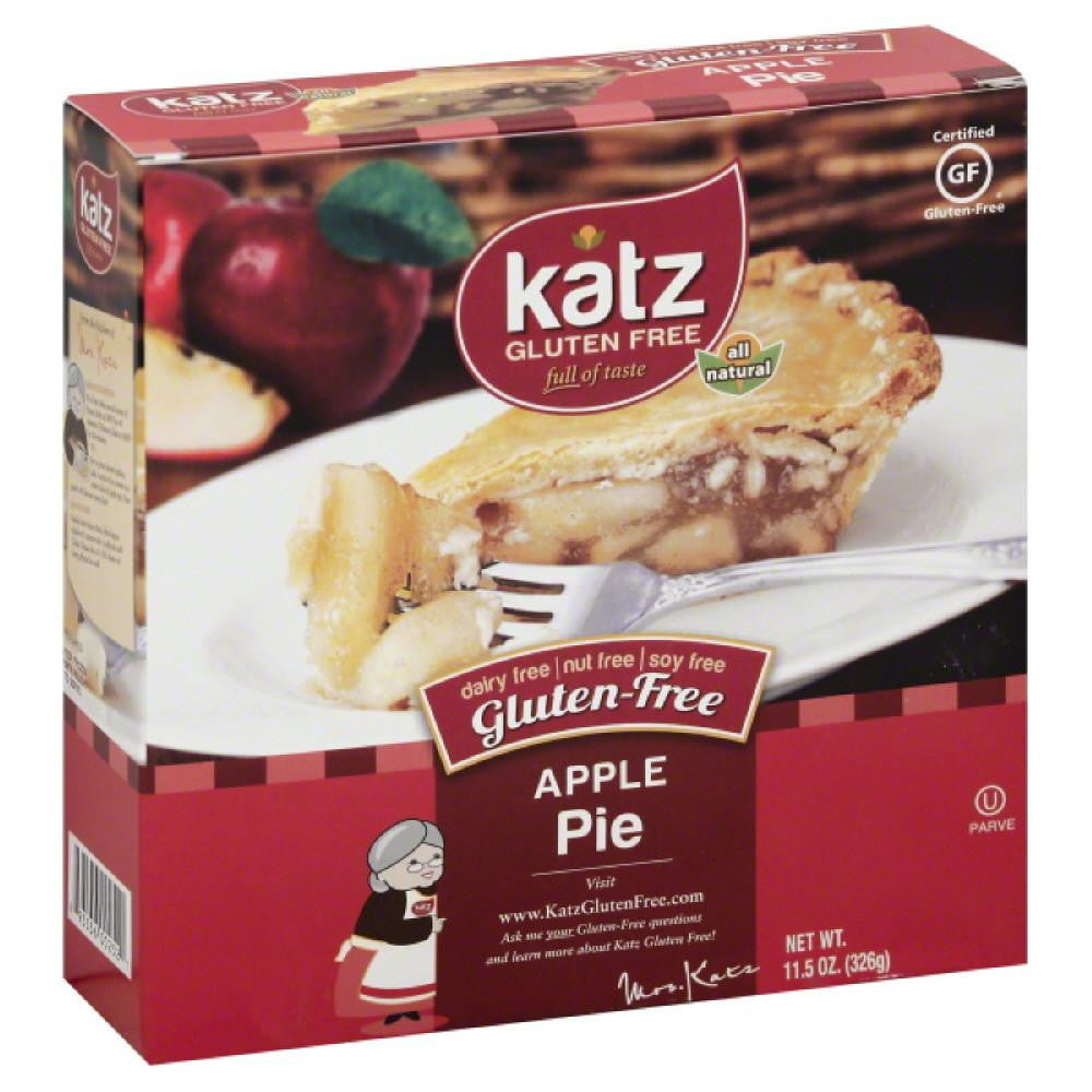 Katz Apple Gluten-Free Pie, 11.5 Oz (Pack of 6)