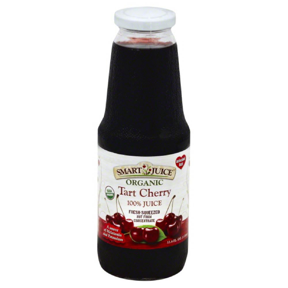 Smart Juice Tart Cherry 100% Juice, 33.8 Oz (Pack of 6)