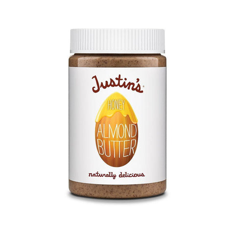 Justin's Nut Butter Honey Almond, 16 OZ (Pack of 6)