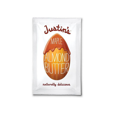 Justin's Natural Maple Almond Butter, 1.15 OZ (Pack of 10)