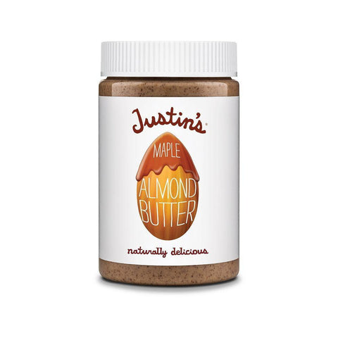 Justin's Natural Maple Almond Butter, 16 OZ (Pack of 6)