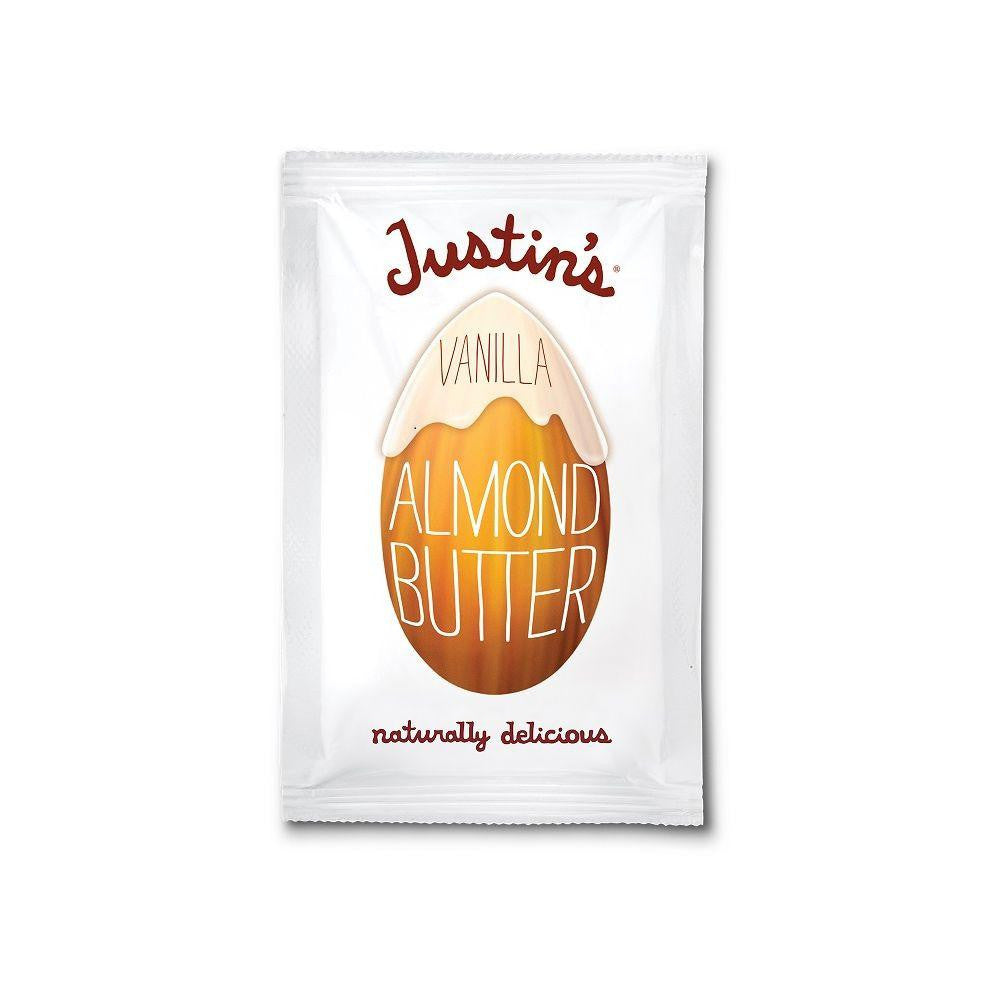 Justin's Nut Butter Vanilla Almond, 1.15 OZ (Pack of 10)
