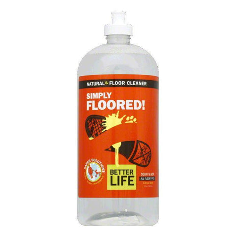 Better Life Ready to Use Simply Floored Floor Cleaner, 32 OZ (Pack of 6)