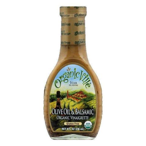 OrganicVille Gluten Free Olive Oil and Balsamic, 8 OZ (Pack of 6)