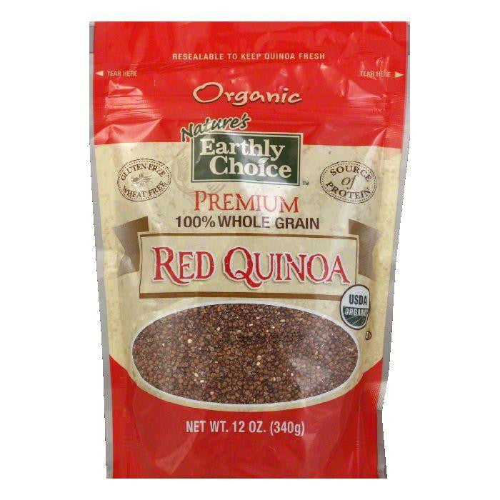 Natures Earthly Choice Original Red Quinoa, 12 OZ (Pack of 6)