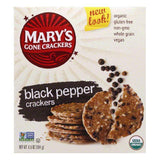 Mary's Gone Crackers Gluten Free Black Pepper, 6.5 OZ (Pack of 6)