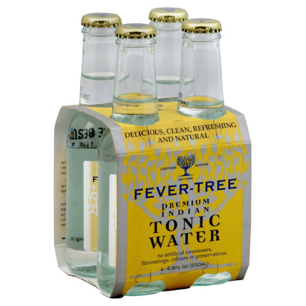 Fever Tree Premium Indian Tonic Water, 6.8 Fo (Pack of 6)