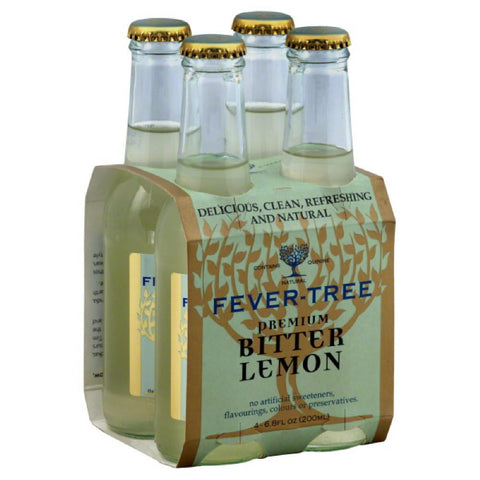 Fever Tree Premium Bitter Lemon, 6.8 Fo (Pack of 6)