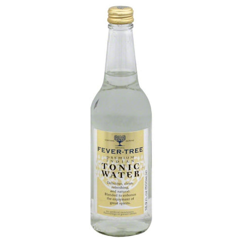 Fever Tree Premium Indian Tonic Water, 16.9 Fo (Pack of 8)
