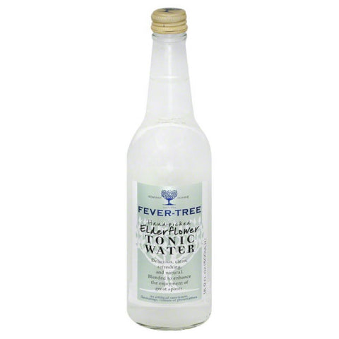Fever Tree Elderflower Tonic Water, 16.9 Fo (Pack of 8)