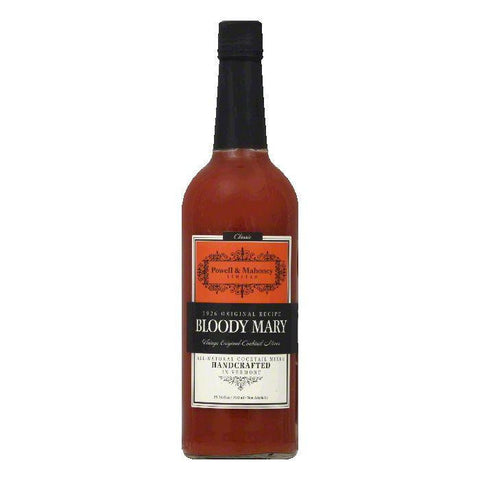 Powell & Mahoney Bloody Mary Cocktail Mixer, 25.36 OZ (Pack of 6)
