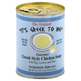 Its Greek To Me Greek Style Gourmet Chicken Soup, 20.2 Oz (Pack of 12)