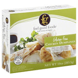 Feel Good Foods Chicken Gluten-Free Dumplings, 10.75 Oz (Pack of 9)