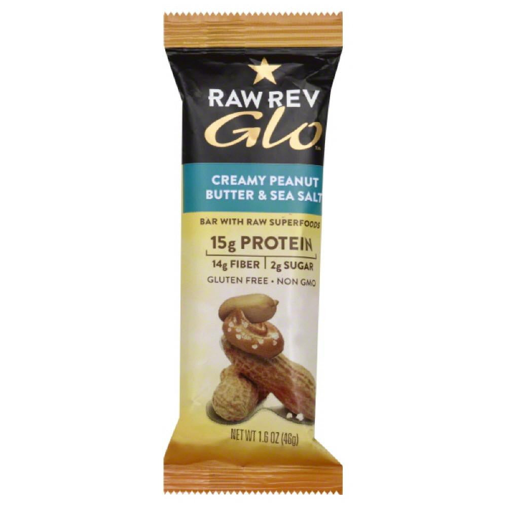 Raw Revolution Creamy Peanut Butter & Sea Salt Bar, 1.6 Oz (Pack of 12)