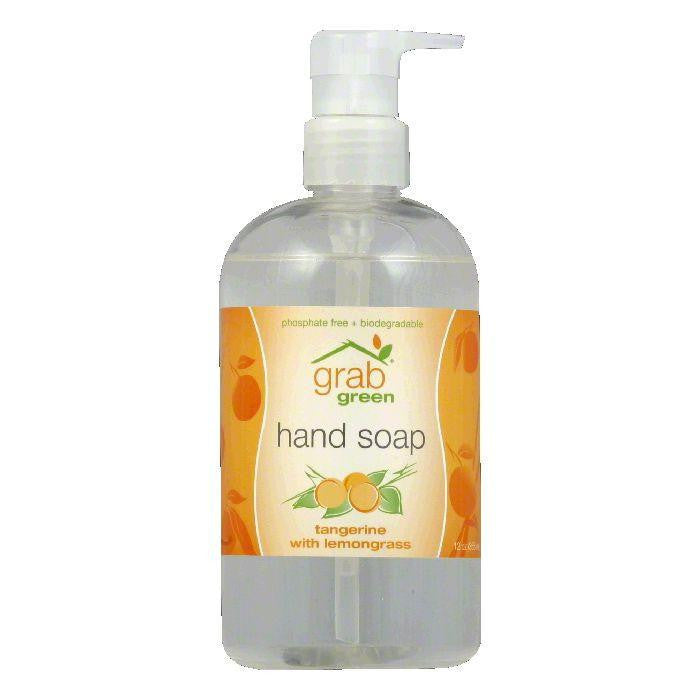 Grab Green Tangerine with Lemongrass Hand Soap, 12 Oz (Pack of 6)