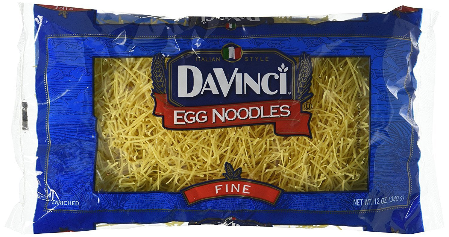 DaVinci Egg Noodle, 12 OZ (Pack of 12)