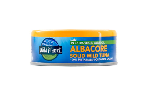 Wild Planet Wild Albarcore in Extra Virgin Olive Oil Tuna, 5 OZ (Pack of 12)