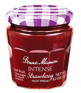 Bonne Maman Intense Strawberry Spread, 8.20 Oz (Pack of 6)